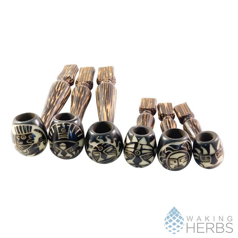 Classic pipe Tagua Nut