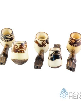 Rustic Pipe Tagua nut