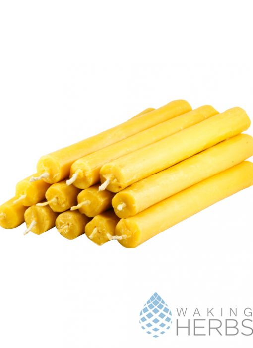 Beewax candle solid 01
