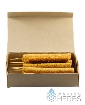 Palo Santo Incense Sticks | 10 Pieces of Handmade Bursera graveolens Incense Sticks in Cardboard Box | Holy Wood