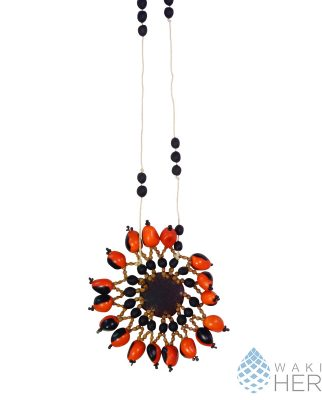 Huayruro Necklace | Woarani | Good luck necklace