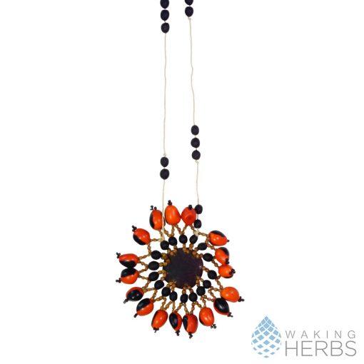 Huayruro Necklace | Woarani | Good luck necklace