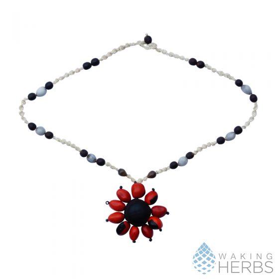 Good luck and balance Necklace huayruro